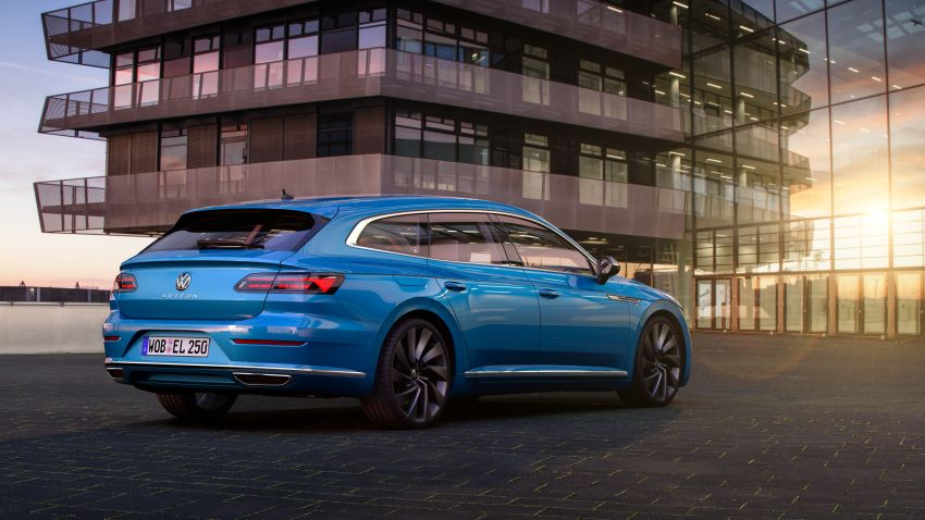 2020 Volkswagen Arteon facelift debuts – new PHEV and 320 PS R variants, Shooting Brake model added Image #1135116