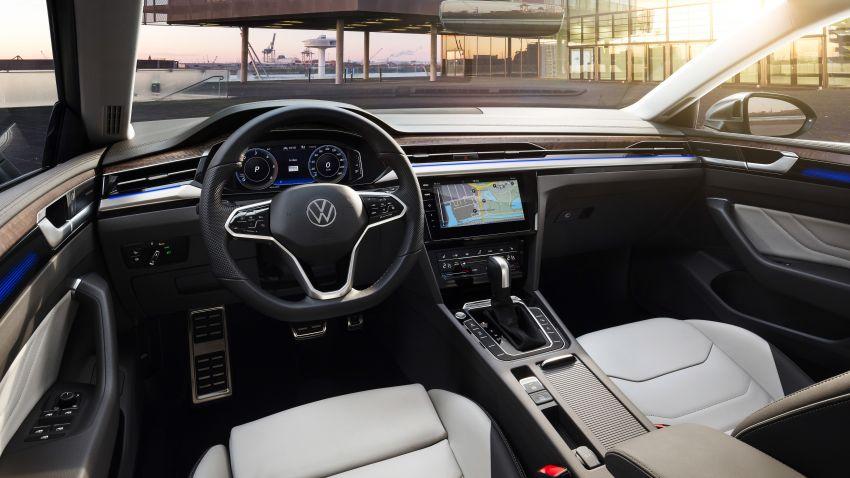 Volkswagen Arteon <em>facelift</em> 2020 diperkenal — varian PHEV dan 320 PS R baru serta model Shooting Brake Image #1135477