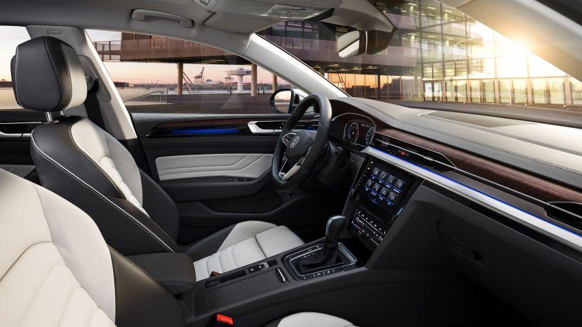 2020 Volkswagen Arteon facelift debuts – new PHEV and 320 PS R variants, Shooting Brake model added Image #1135133