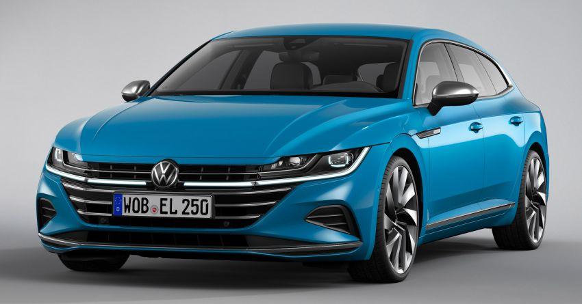 Volkswagen Arteon <em>facelift</em> 2020 diperkenal — varian PHEV dan 320 PS R baru serta model Shooting Brake Image #1135483