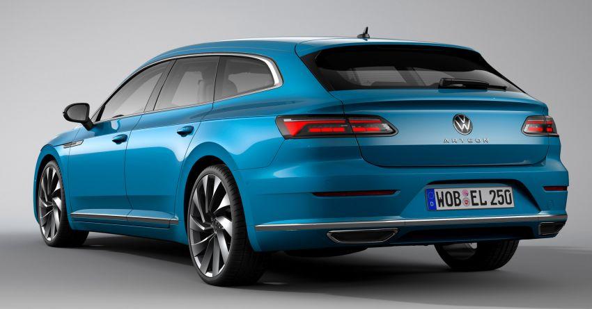 2020 Volkswagen Arteon facelift debuts – new PHEV and 320 PS R variants, Shooting Brake model added Image #1135145
