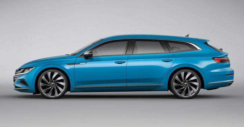 Volkswagen Arteon <em>facelift</em> 2020 diperkenal — varian PHEV dan 320 PS R baru serta model Shooting Brake Image #1135485