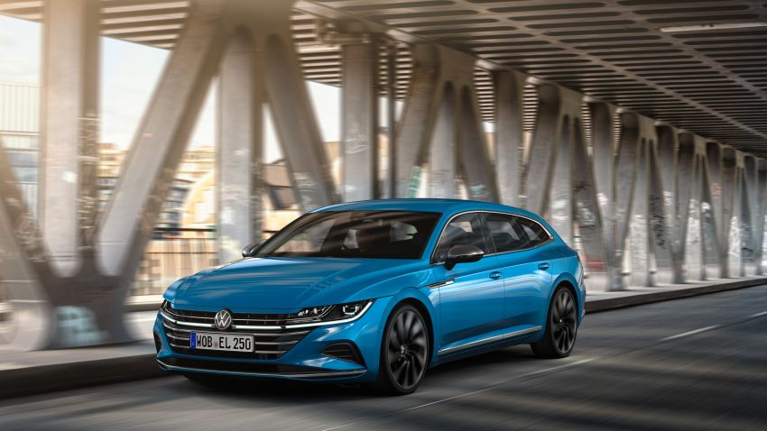 2020 Volkswagen Arteon facelift debuts – new PHEV and 320 PS R variants, Shooting Brake model added Image #1135093
