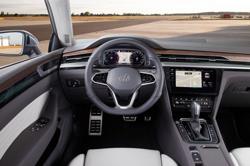 2020 Volkswagen Arteon facelift debuts – new PHEV and 320 PS R variants, Shooting Brake model added Image #1135165