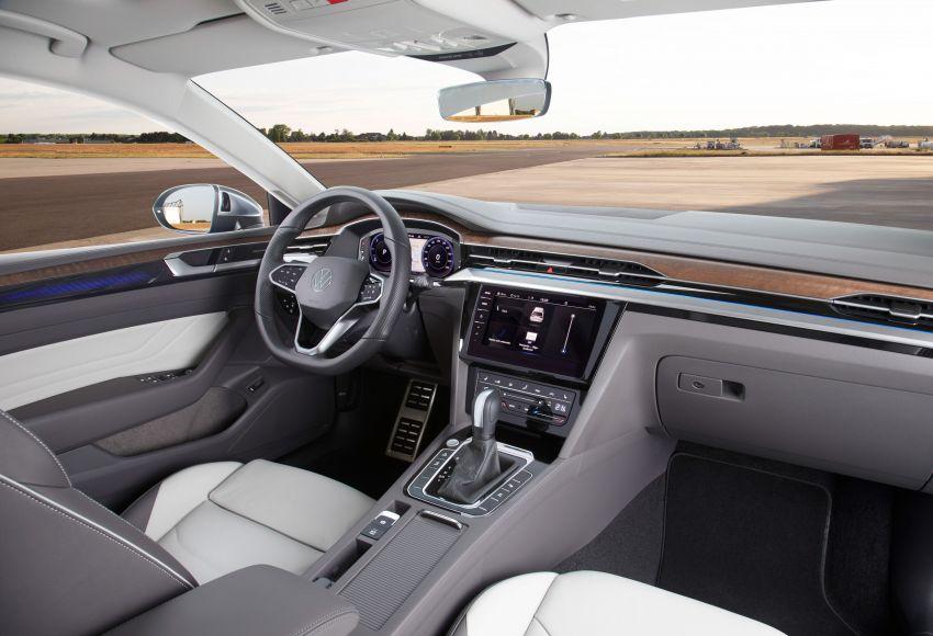 Volkswagen Arteon <em>facelift</em> 2020 diperkenal — varian PHEV dan 320 PS R baru serta model Shooting Brake Image #1135493