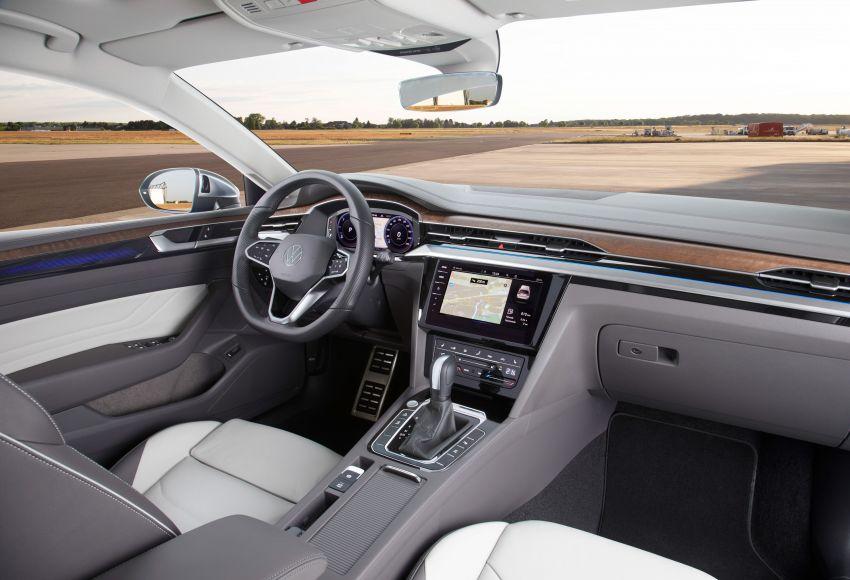 2020 Volkswagen Arteon facelift debuts – new PHEV and 320 PS R variants, Shooting Brake model added Image #1135171