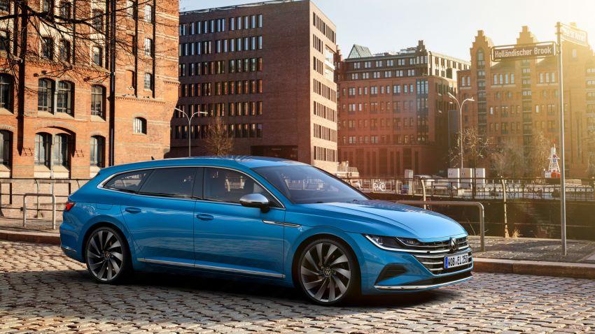 2020 Volkswagen Arteon facelift debuts – new PHEV and 320 PS R variants, Shooting Brake model added Image #1135094