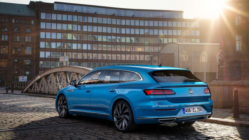 Volkswagen Arteon <em>facelift</em> 2020 diperkenal — varian PHEV dan 320 PS R baru serta model Shooting Brake Image #1135465
