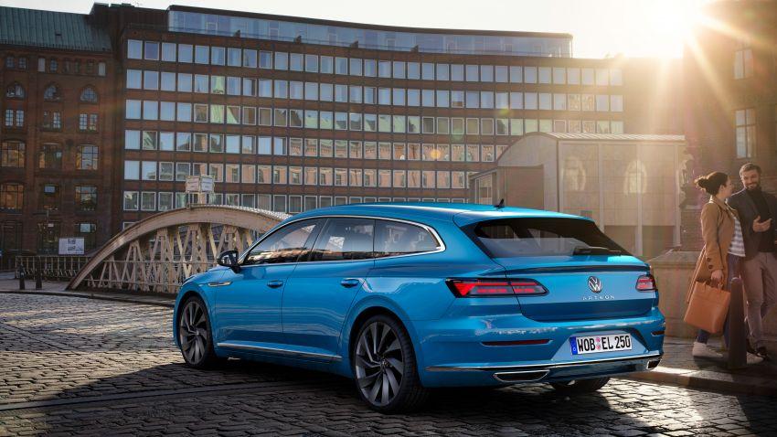 2020 Volkswagen Arteon facelift debuts – new PHEV and 320 PS R variants, Shooting Brake model added Image #1135100