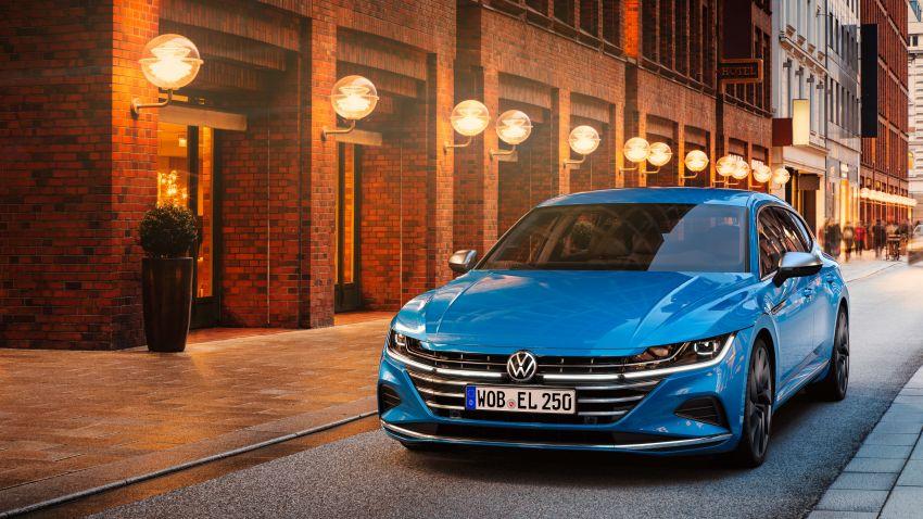 2020 Volkswagen Arteon facelift debuts – new PHEV and 320 PS R variants, Shooting Brake model added Image #1135103