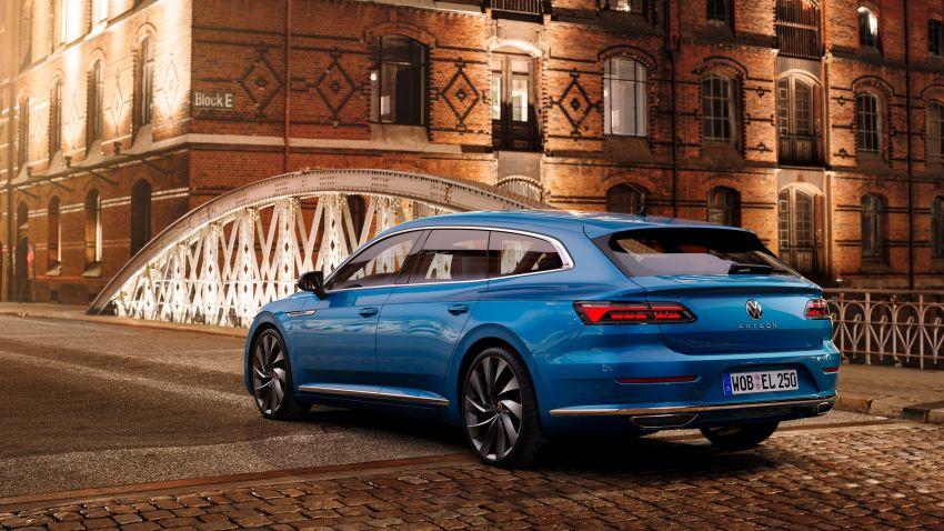 2020 Volkswagen Arteon facelift debuts – new PHEV and 320 PS R variants, Shooting Brake model added Image #1135110