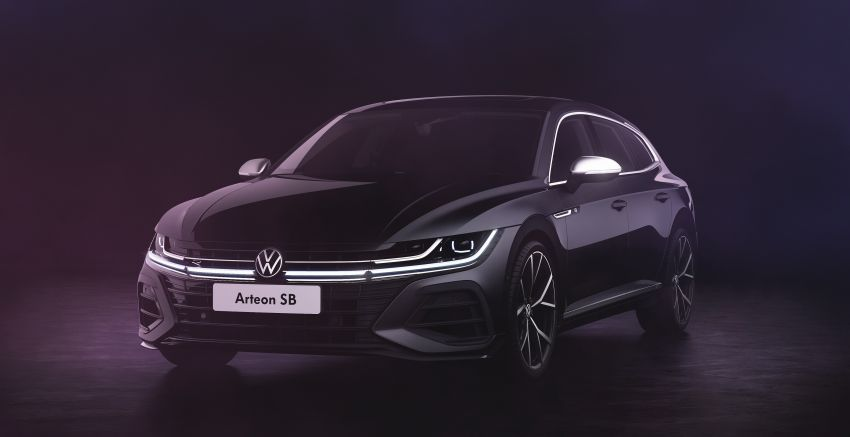 2020 Volkswagen Arteon facelift debuts – new PHEV and 320 PS R variants, Shooting Brake model added Image #1135061