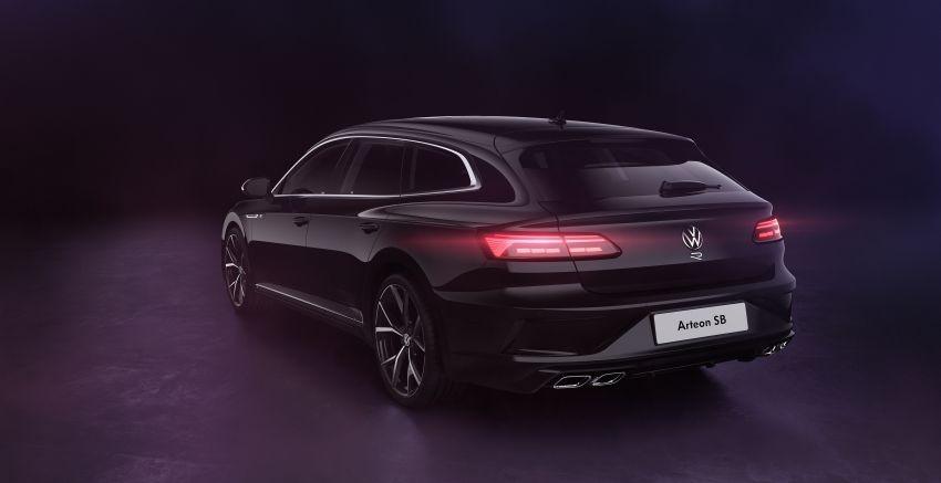 2020 Volkswagen Arteon facelift debuts – new PHEV and 320 PS R variants, Shooting Brake model added Image #1135062