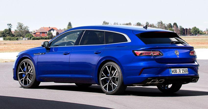 2020 Volkswagen Arteon facelift debuts – new PHEV and 320 PS R variants, Shooting Brake model added Image #1135039