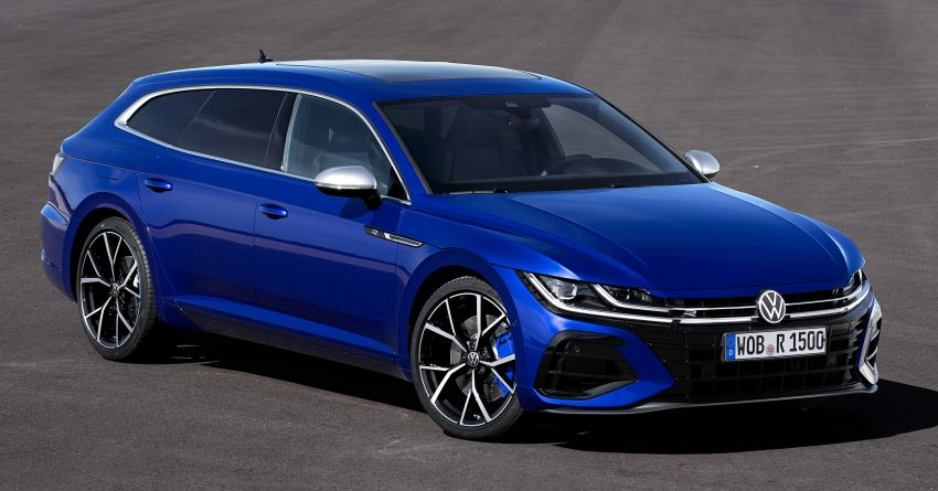 2020 Volkswagen Arteon facelift debuts – new PHEV and 320 PS R variants, Shooting Brake model added Image #1135040