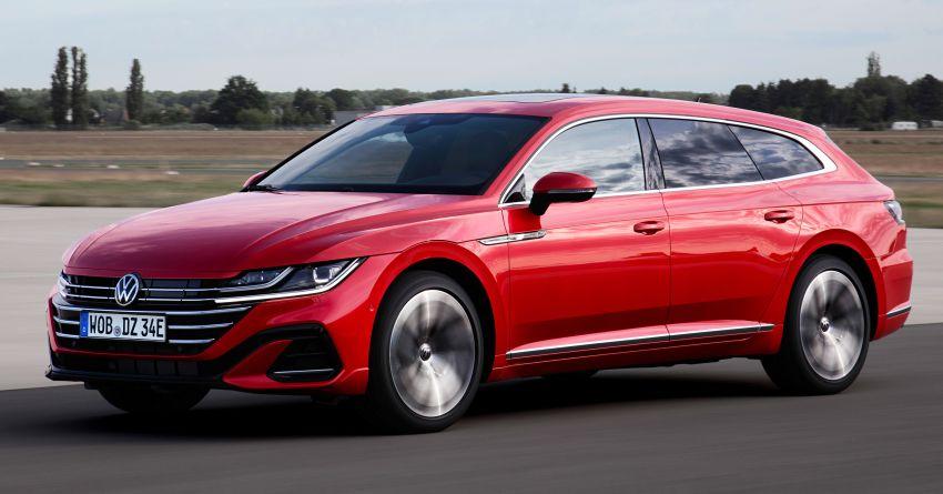 2020 Volkswagen Arteon facelift debuts – new PHEV and 320 PS R variants, Shooting Brake model added Image #1135069