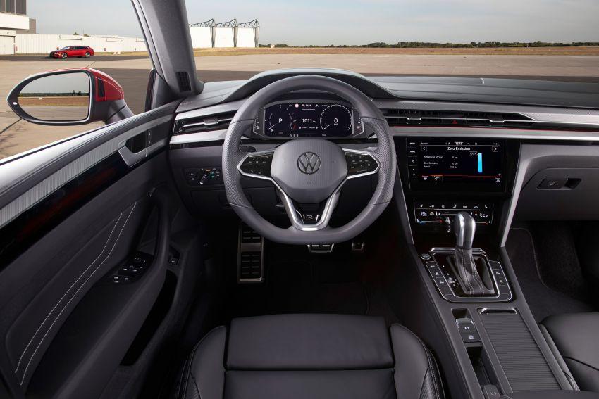 2020 Volkswagen Arteon facelift debuts – new PHEV and 320 PS R variants, Shooting Brake model added Image #1135081