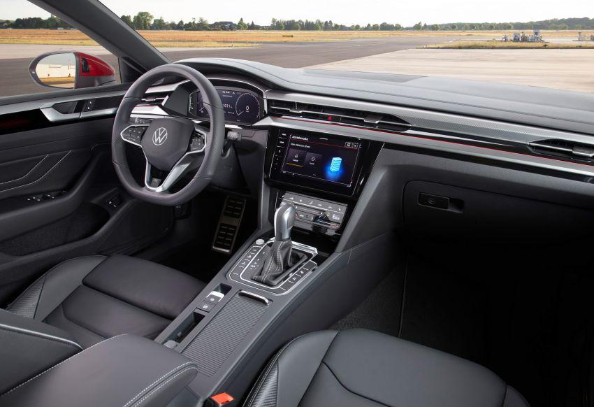 Volkswagen Arteon <em>facelift</em> 2020 diperkenal — varian PHEV dan 320 PS R baru serta model Shooting Brake Image #1135456