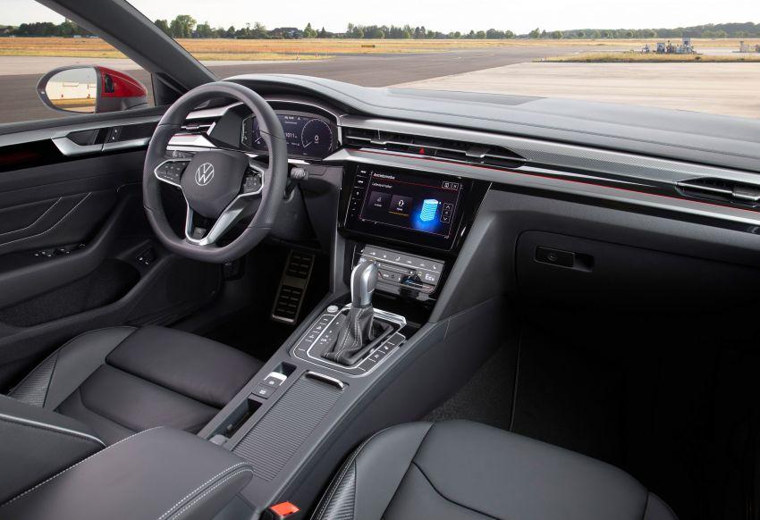 Volkswagen Arteon <em>facelift</em> 2020 diperkenal — varian PHEV dan 320 PS R baru serta model Shooting Brake Image #1135458