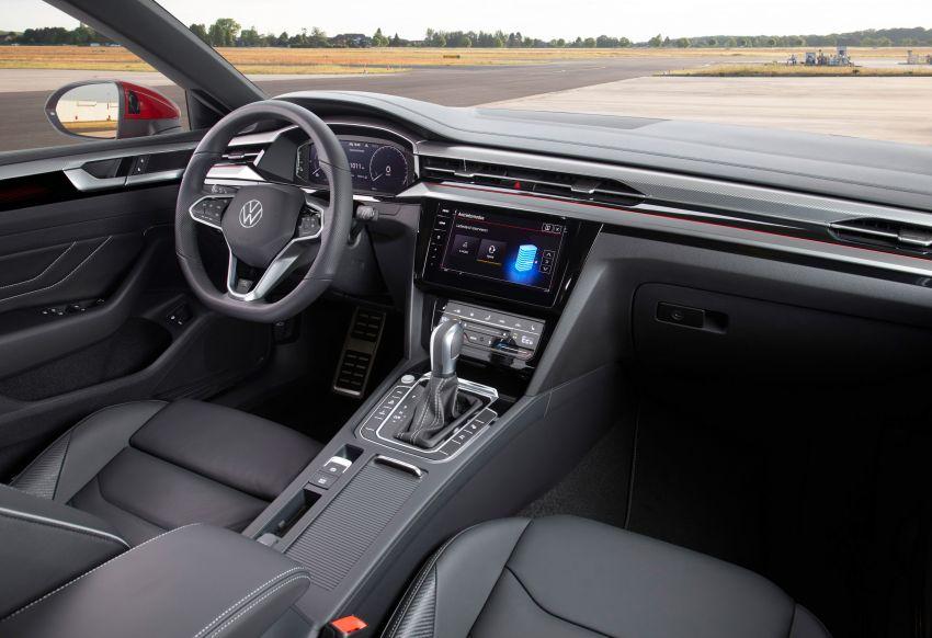 Volkswagen Arteon <em>facelift</em> 2020 diperkenal — varian PHEV dan 320 PS R baru serta model Shooting Brake Image #1135459