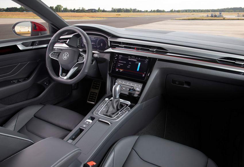 2020 Volkswagen Arteon facelift debuts – new PHEV and 320 PS R variants, Shooting Brake model added Image #1135087