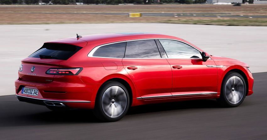 2020 Volkswagen Arteon facelift debuts – new PHEV and 320 PS R variants, Shooting Brake model added Image #1135071