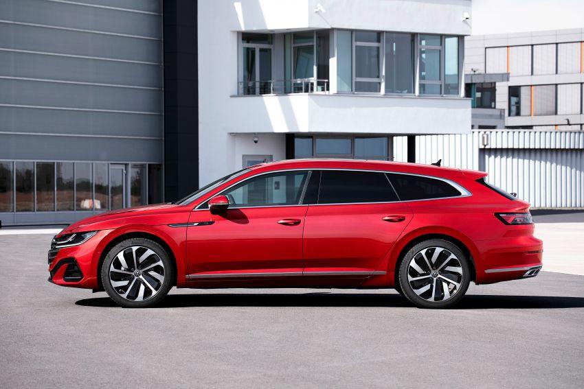 2020 Volkswagen Arteon facelift debuts – new PHEV and 320 PS R variants, Shooting Brake model added Image #1135072