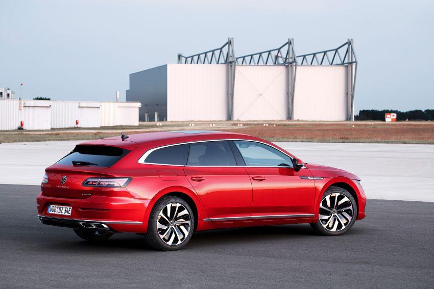 Volkswagen Arteon <em>facelift</em> 2020 diperkenal — varian PHEV dan 320 PS R baru serta model Shooting Brake Image #1135448