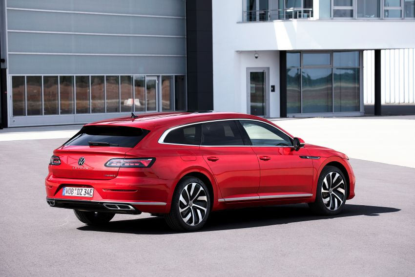 2020 Volkswagen Arteon facelift debuts – new PHEV and 320 PS R variants, Shooting Brake model added Image #1135075