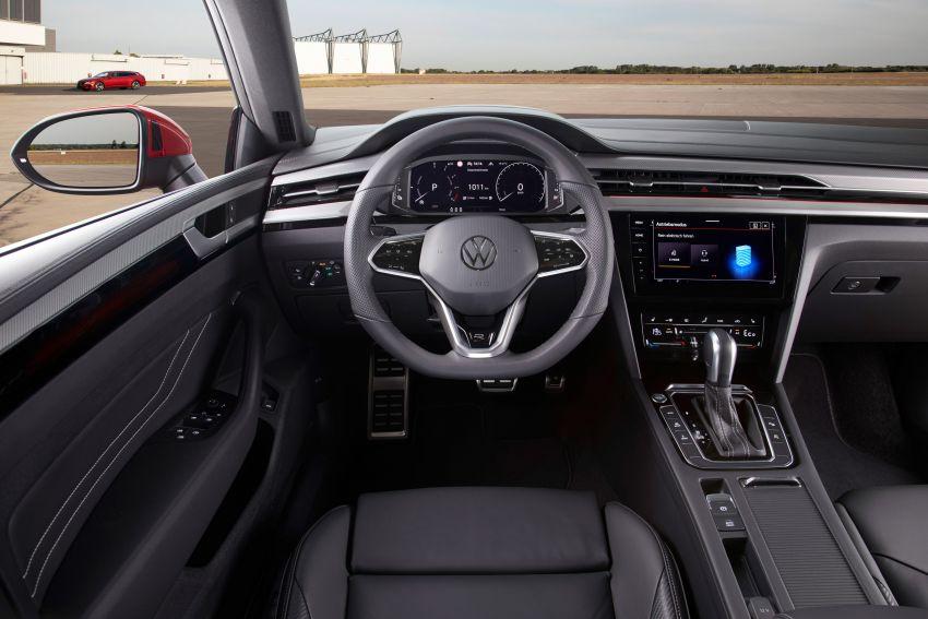 Volkswagen Arteon <em>facelift</em> 2020 diperkenal — varian PHEV dan 320 PS R baru serta model Shooting Brake Image #1135451