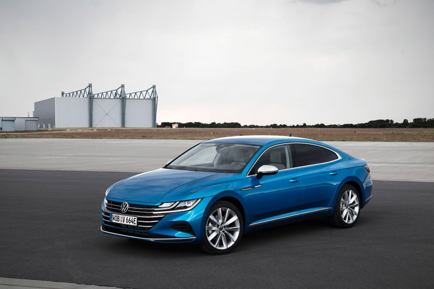 2020 Volkswagen Arteon facelift debuts – new PHEV and 320 PS R variants, Shooting Brake model added Image #1134979
