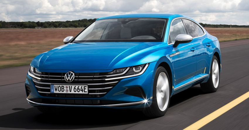 2020 Volkswagen Arteon facelift debuts – new PHEV and 320 PS R variants, Shooting Brake model added Image #1134982