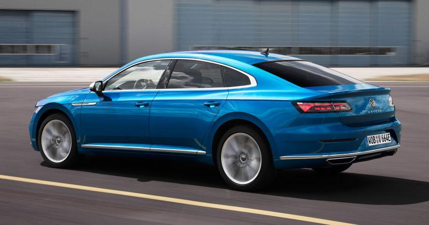 2020 Volkswagen Arteon facelift debuts – new PHEV and 320 PS R variants, Shooting Brake model added Image #1134988