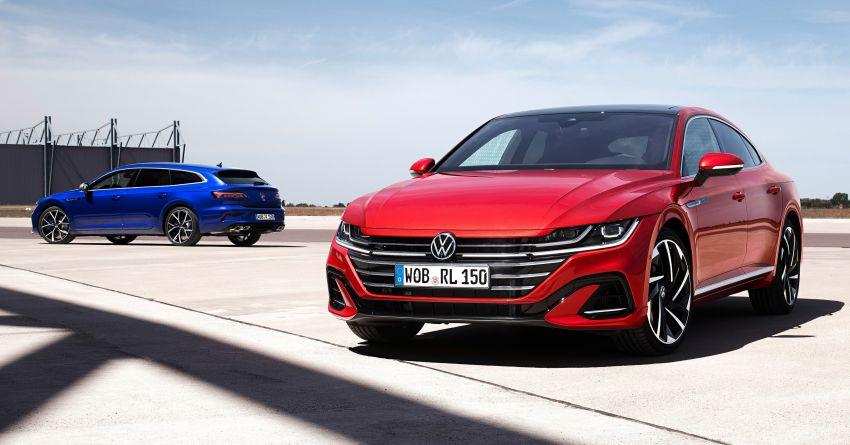 Volkswagen Arteon <em>facelift</em> 2020 diperkenal — varian PHEV dan 320 PS R baru serta model Shooting Brake Image #1135380