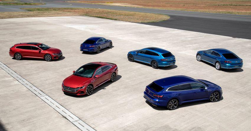 Volkswagen Arteon <em>facelift</em> 2020 diperkenal — varian PHEV dan 320 PS R baru serta model Shooting Brake Image #1135381