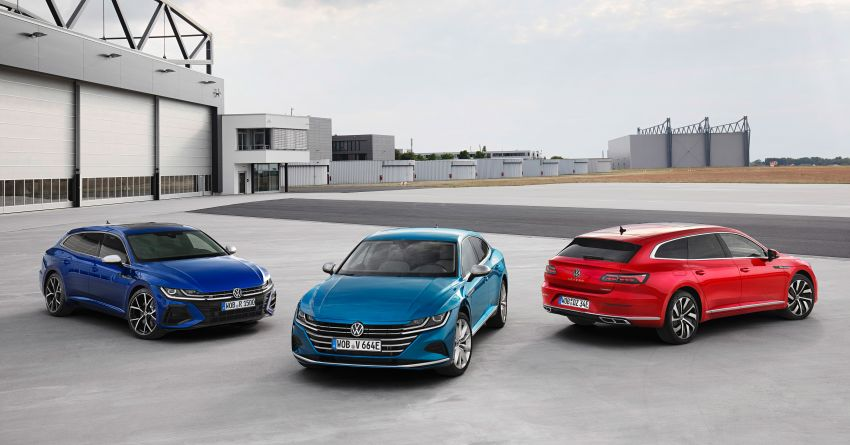 2020 Volkswagen Arteon facelift debuts – new PHEV and 320 PS R variants, Shooting Brake model added Image #1134914