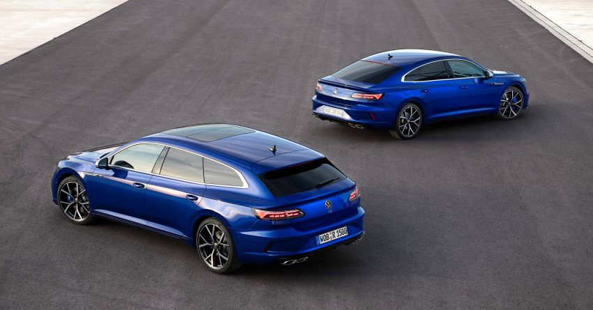 2020 Volkswagen Arteon facelift debuts – new PHEV and 320 PS R variants, Shooting Brake model added Image #1134915