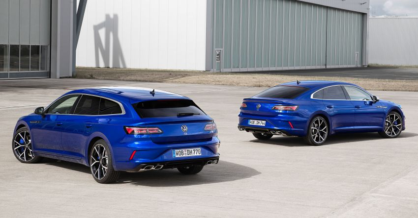 2020 Volkswagen Arteon facelift debuts – new PHEV and 320 PS R variants, Shooting Brake model added Image #1134917
