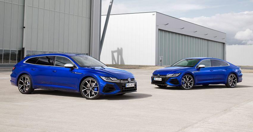 2020 Volkswagen Arteon facelift debuts – new PHEV and 320 PS R variants, Shooting Brake model added Image #1134918