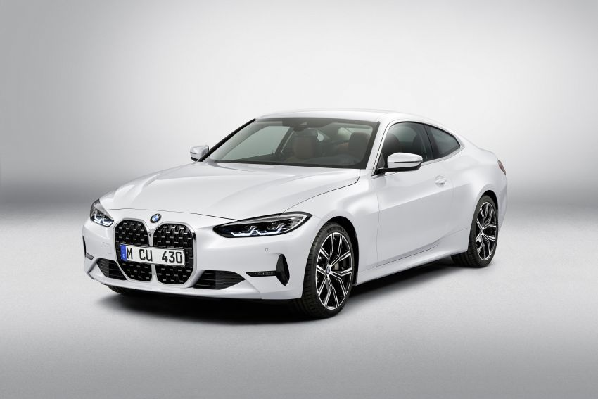 G22 BMW 4 Series Coupé debuts – five variants at launch; 48V mild-hybrid tech for M440i, three diesels Image #1125883