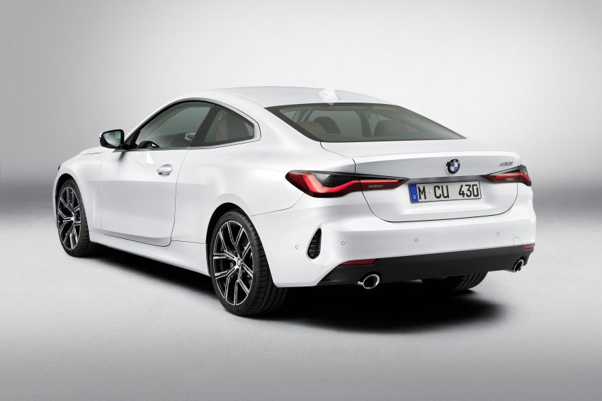 G22 BMW 4 Series Coupé debuts – five variants at launch; 48V mild-hybrid tech for M440i, three diesels Image #1125882
