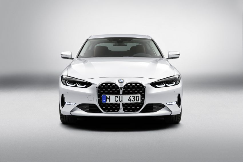 G22 BMW 4 Series Coupé debuts – five variants at launch; 48V mild-hybrid tech for M440i, three diesels Image #1125880