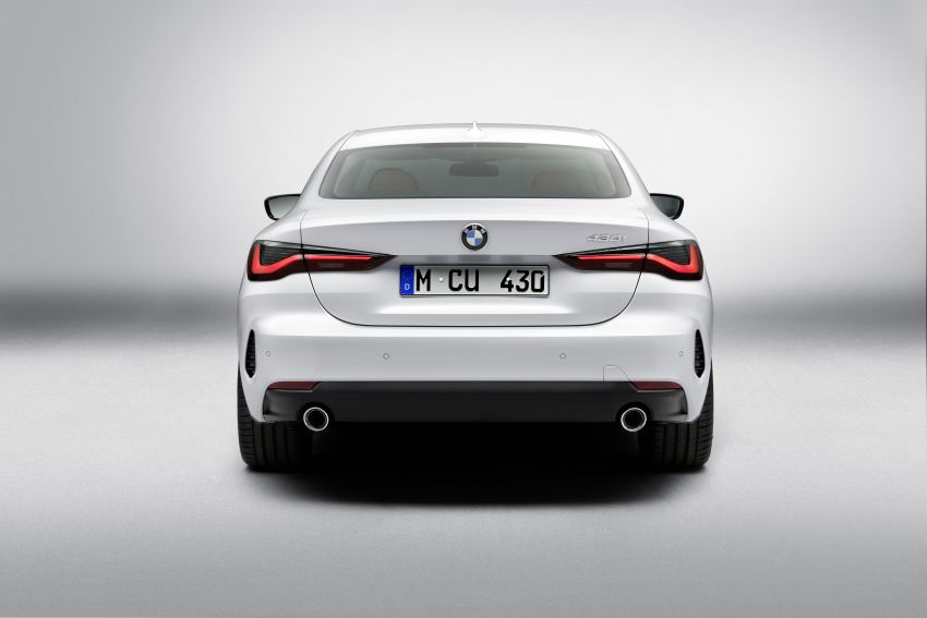 G22 BMW 4 Series Coupé debuts – five variants at launch; 48V mild-hybrid tech for M440i, three diesels Image #1125879