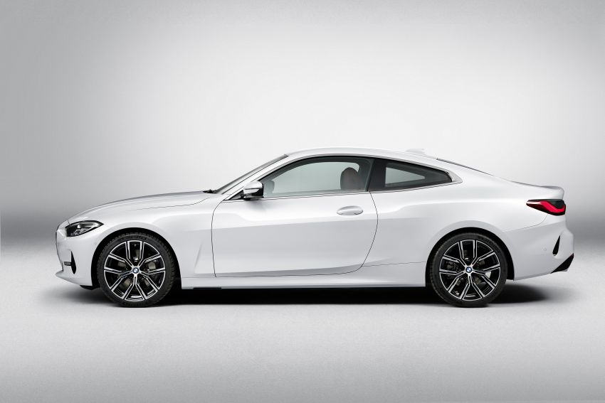 G22 BMW 4 Series Coupé debuts – five variants at launch; 48V mild-hybrid tech for M440i, three diesels Image #1125877