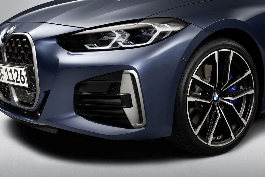 G22 BMW 4 Series Coupé debuts – five variants at launch; 48V mild-hybrid tech for M440i, three diesels Image #1125803