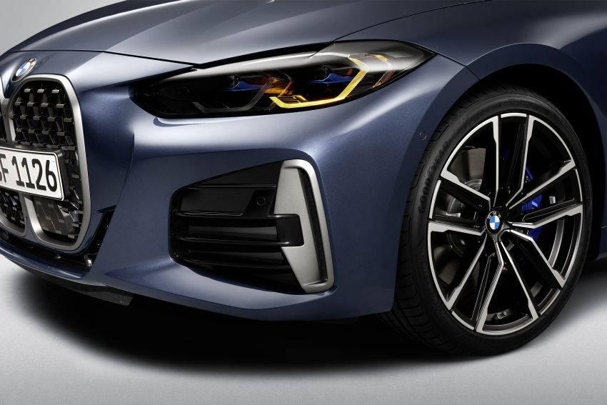 G22 BMW 4 Series Coupé debuts – five variants at launch; 48V mild-hybrid tech for M440i, three diesels Image #1125801