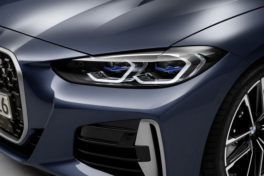 G22 BMW 4 Series Coupé debuts – five variants at launch; 48V mild-hybrid tech for M440i, three diesels Image #1125800