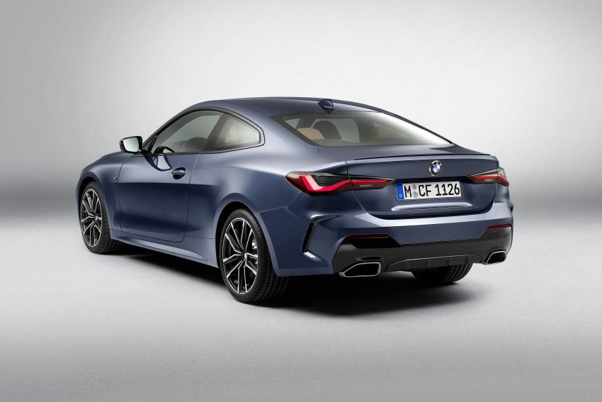 G22 BMW 4 Series Coupé debuts – five variants at launch; 48V mild-hybrid tech for M440i, three diesels Image #1125788