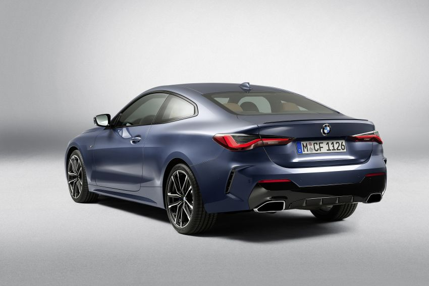 G22 BMW 4 Series Coupé debuts – five variants at launch; 48V mild-hybrid tech for M440i, three diesels Image #1125786
