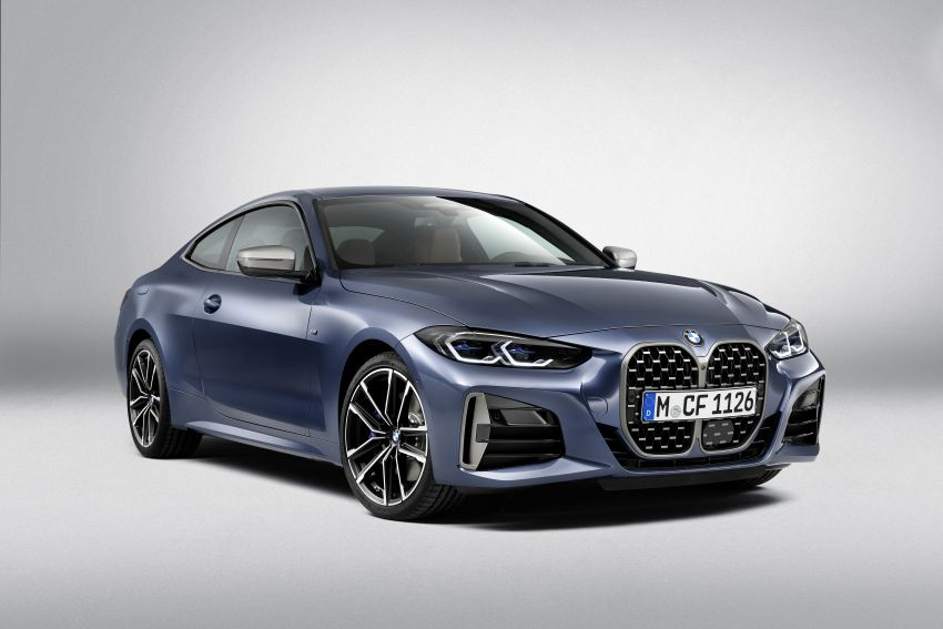G22 BMW 4 Series Coupé debuts – five variants at launch; 48V mild-hybrid tech for M440i, three diesels Image #1125785